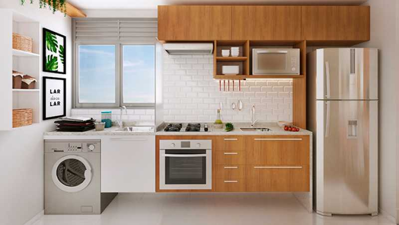 Cozinha - Fachada - Praia Park Sol a partir de 153.000 - 47 - 5