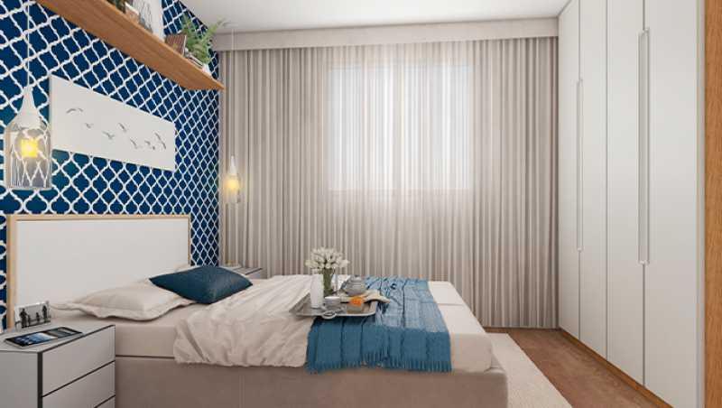 Dormitório 1 - Fachada - Praia Park Sol a partir de 153.000 - 47 - 7