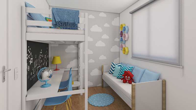 Dormitório 2 - Fachada - Praia Park Sol a partir de 153.000 - 47 - 8