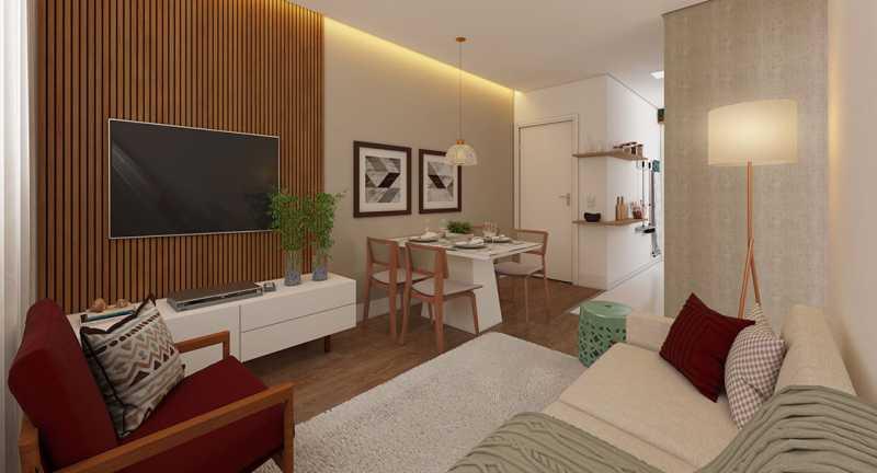 Sala de estar - Fachada - Recanto do Pontal a partir de 194.000 - 48 - 3