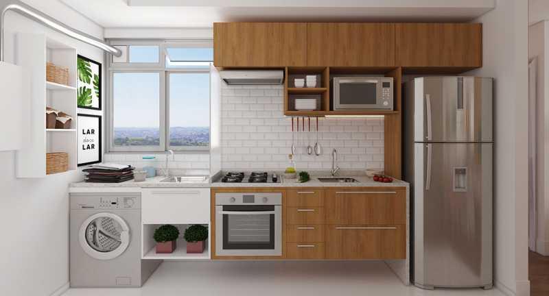 Cozinha - Fachada - Recanto do Pontal a partir de 194.000 - 48 - 4