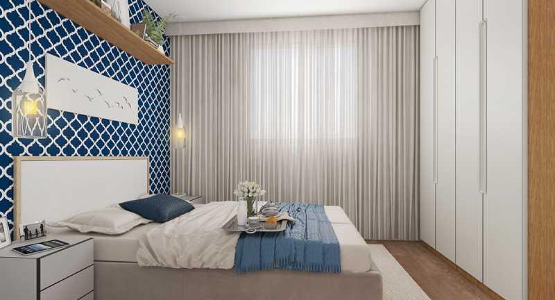 Dormitório 1 - Fachada - Recanto do Pontal a partir de 194.000 - 48 - 6