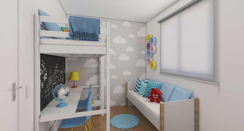 Dormitório 2 - Fachada - Recanto do Pontal a partir de 194.000 - 48 - 7