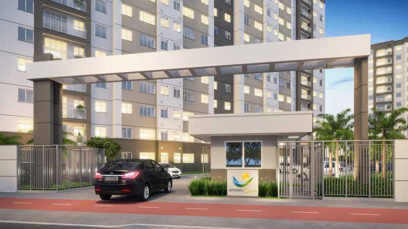 Portaria - Fachada - Residencial Apogeu Barra a partir de 230.000 - 51 - 1