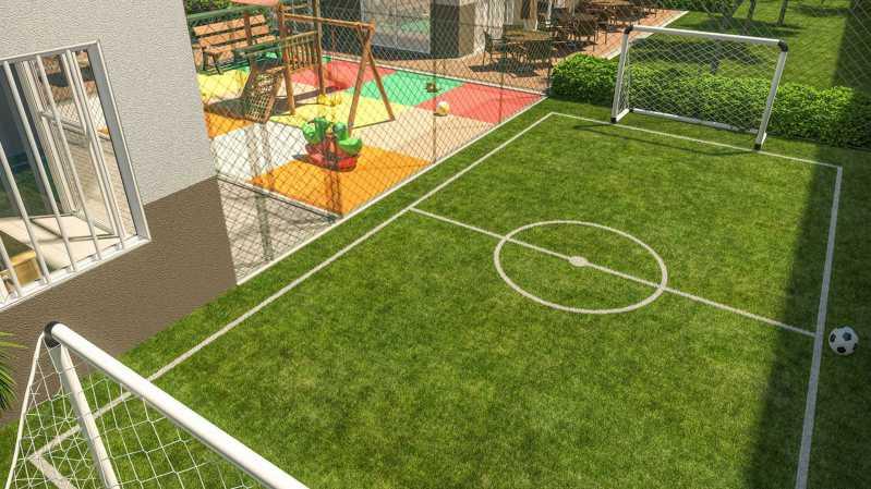 Campo - Fachada - Residencial Apogeu Barra a partir de 230.000 - 51 - 3