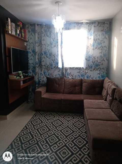 sala com painel e sofa  - Apartamento 2 quartos à venda Itaguaí,RJ - R$ 140.000 - MTAP20016 - 1