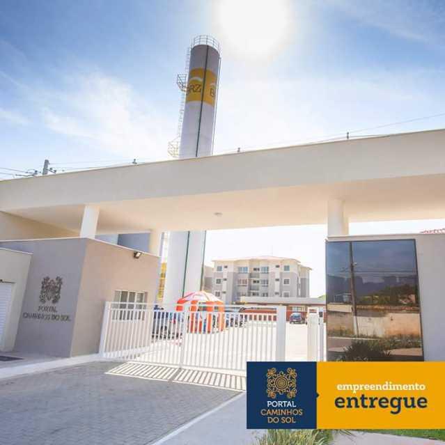 Entrada com portaria 24 horas - Apartamento 2 quartos à venda Itaguaí,RJ - R$ 140.000 - MTAP20016 - 9