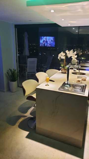 IMG-20210603-WA0118 - Cobertura, contemporâneo, piscina, Campo Grande , luxo, apartamento . Imperdível!! - MTCO20001 - 8
