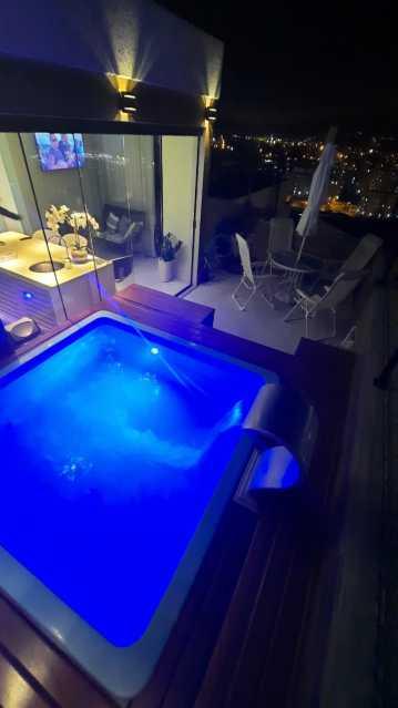 IMG-20210603-WA0146 - Cobertura, contemporâneo, piscina, Campo Grande , luxo, apartamento . Imperdível!! - MTCO20001 - 3
