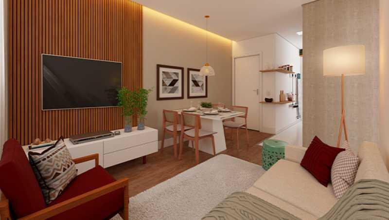 Sala de Estar - Apartamento à venda Rio de Janeiro,RJ - R$ 180.000 - MTAP00010 - 8