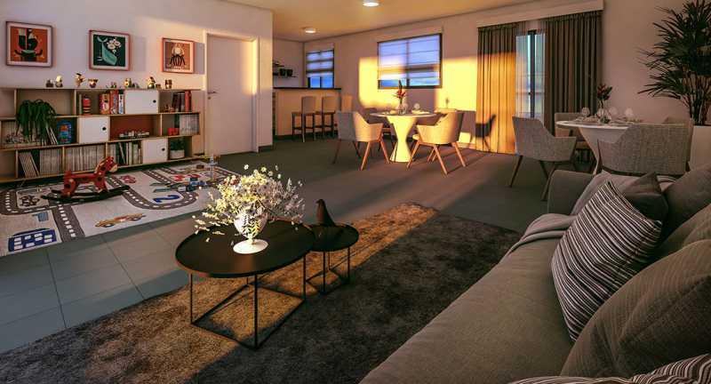 Salão de Festas - Apartamento à venda Rio de Janeiro,RJ - R$ 193.333 - MTAP00012 - 1