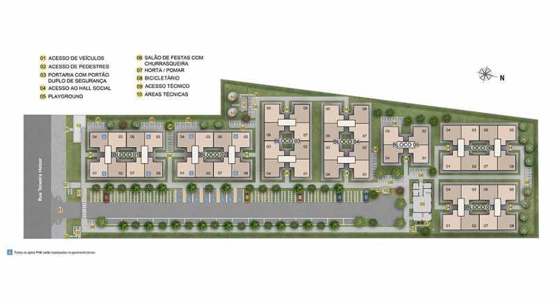 Implantação - Apartamento à venda Rio de Janeiro,RJ - R$ 193.333 - MTAP00012 - 9
