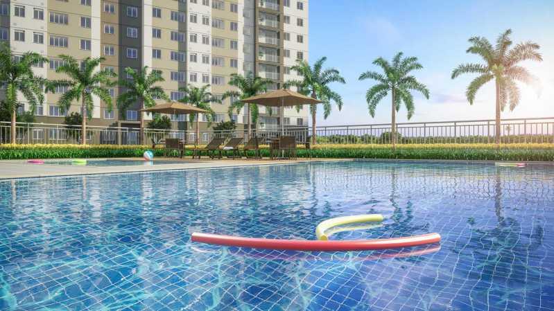 Piscina - Apartamento à venda Rio de Janeiro,RJ - R$ 230.000 - MTAP00015 - 3