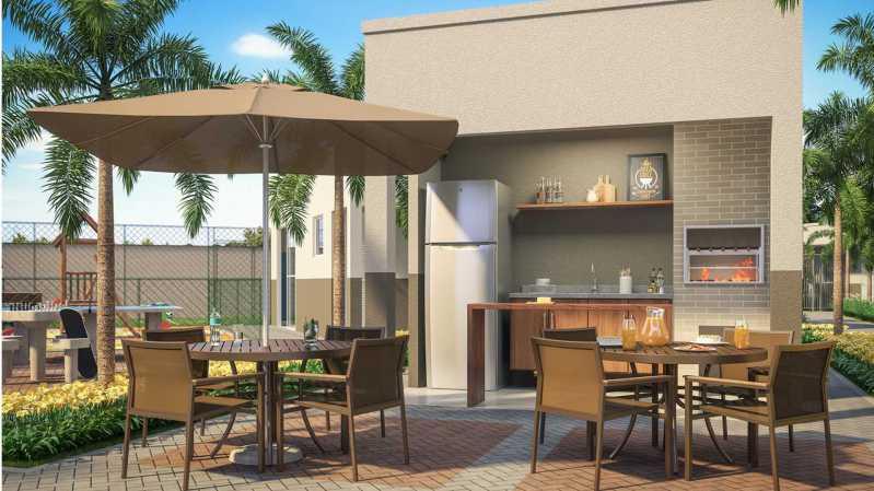 Churrasqueira - Apartamento à venda Rio de Janeiro,RJ - R$ 230.000 - MTAP00015 - 5