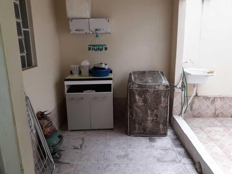 ÁREA DE SERVIÇO - Casa à venda Rio de Janeiro,RJ Guaratiba - R$ 210.000 - GBCA00004 - 3