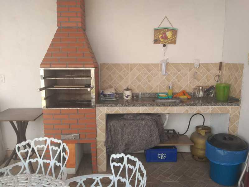 ÁREA GOURMET - Casa à venda Rio de Janeiro,RJ Guaratiba - R$ 210.000 - GBCA00004 - 8