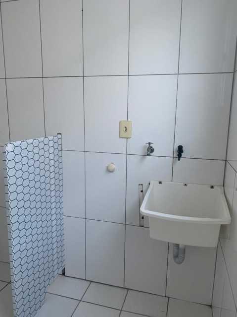 área de serviço - Apartamento 2 quartos para alugar Santíssimo, Rio de Janeiro - R$ 550 - AP0080 - 12