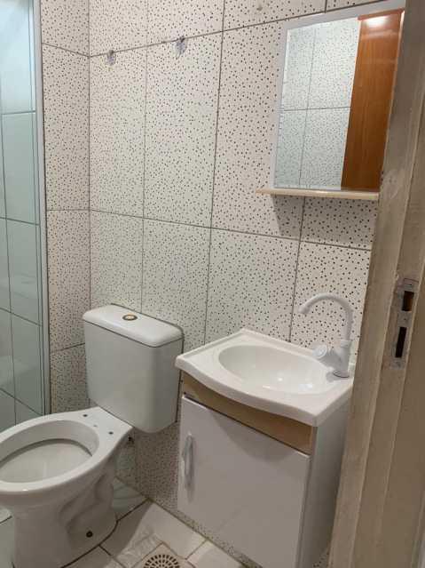 banheiro 2 - Apartamento 2 quartos para alugar Santíssimo, Rio de Janeiro - R$ 550 - AP0080 - 5
