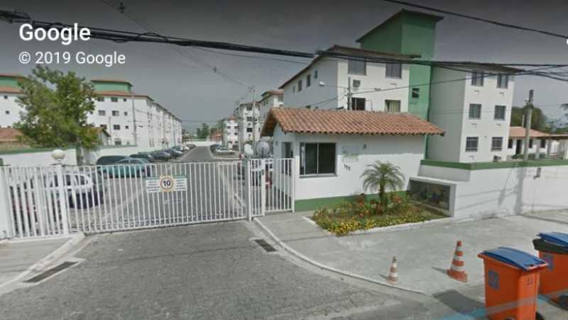 fachada - Apartamento 2 quartos para alugar Santíssimo, Rio de Janeiro - R$ 550 - AP0080 - 1
