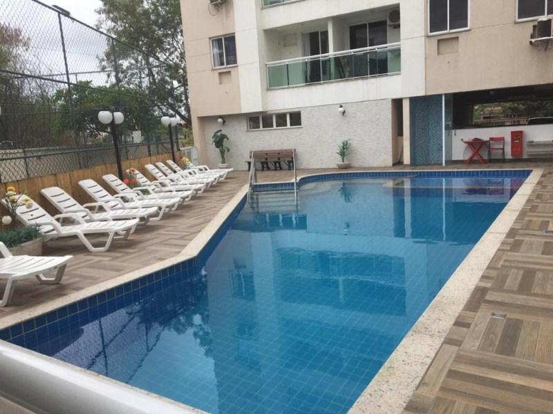 FOTO16 - Maravilhoso Apartamento com suíte no Adryana Residence. - AP0193 - 18