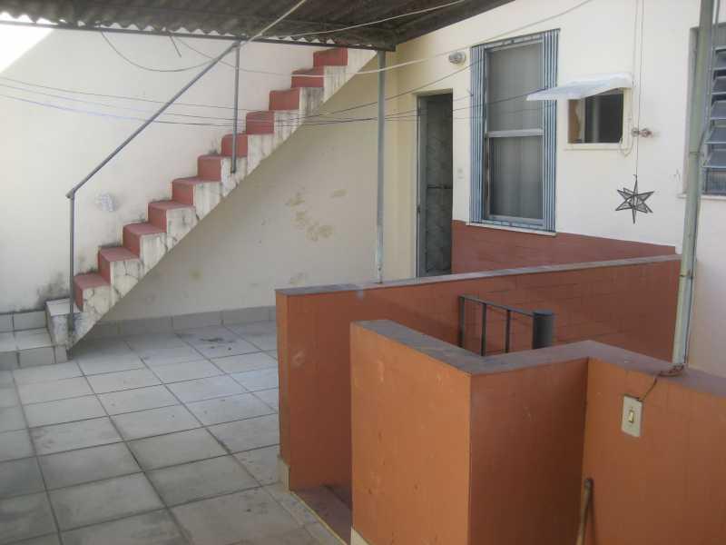 057 - Casa de Vila à venda Rua São Miguel,Tijuca, Rio de Janeiro - R$ 440.000 - TJCV30002 - 13