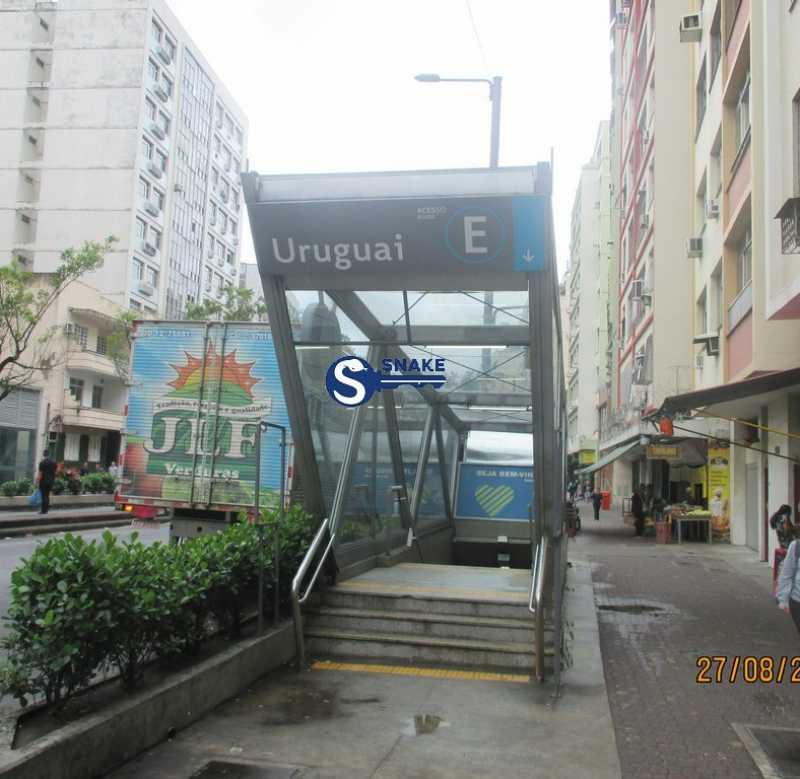 0-rua - Apartamento 2 quartos para alugar Tijuca, Rio de Janeiro - R$ 1.600 - TJAP20321 - 1