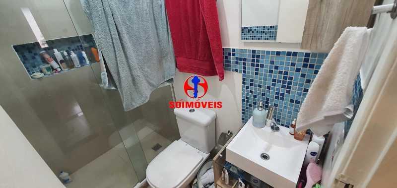 BANHEIRO SOCIAL - Apartamento 3 quartos à venda Todos os Santos, Rio de Janeiro - R$ 399.000 - TJAP30162 - 15