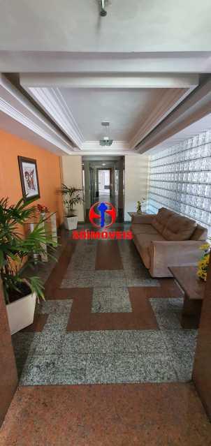HALL DO PRÉDIO - Apartamento 3 quartos à venda Todos os Santos, Rio de Janeiro - R$ 399.000 - TJAP30162 - 19