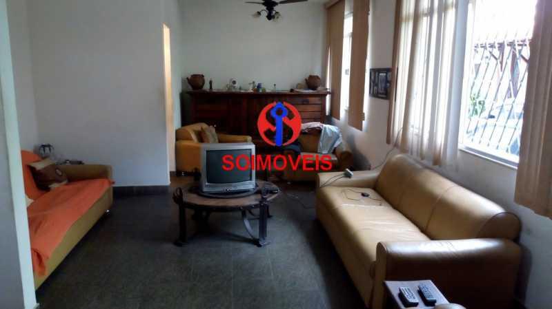 1-sl - Casa de Vila 3 quartos à venda Tijuca, Rio de Janeiro - R$ 450.000 - TJCV30014 - 1