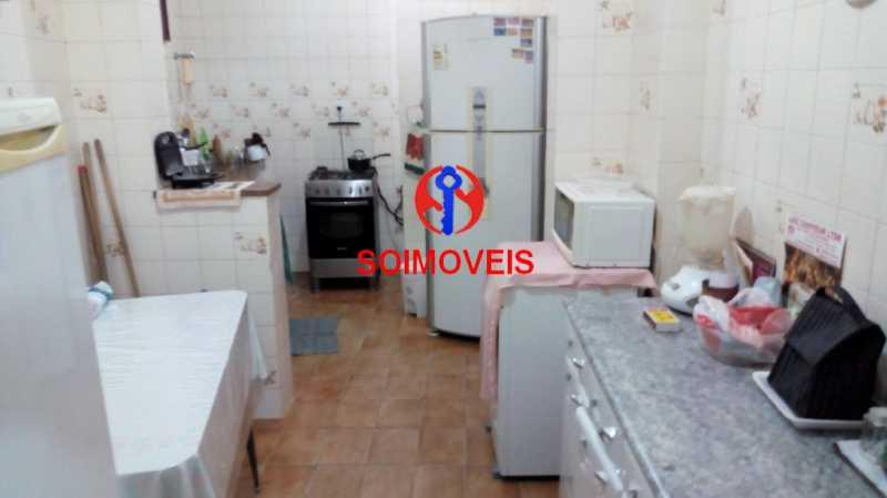 4-coz - Casa de Vila 3 quartos à venda Tijuca, Rio de Janeiro - R$ 450.000 - TJCV30014 - 12