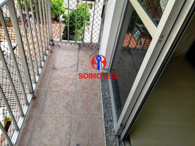 var - Apartamento 1 quarto à venda Andaraí, Rio de Janeiro - R$ 370.000 - TJAP10137 - 1