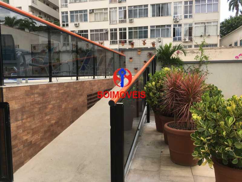acesso pisc - Apartamento 2 quartos à venda Flamengo, Rio de Janeiro - R$ 700.000 - TJAP20510 - 16