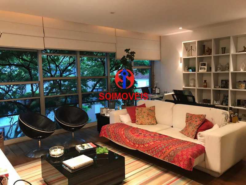 1-sl2 - Apartamento 3 quartos à venda Jardim Botânico, Rio de Janeiro - R$ 2.350.000 - TJAP30245 - 3