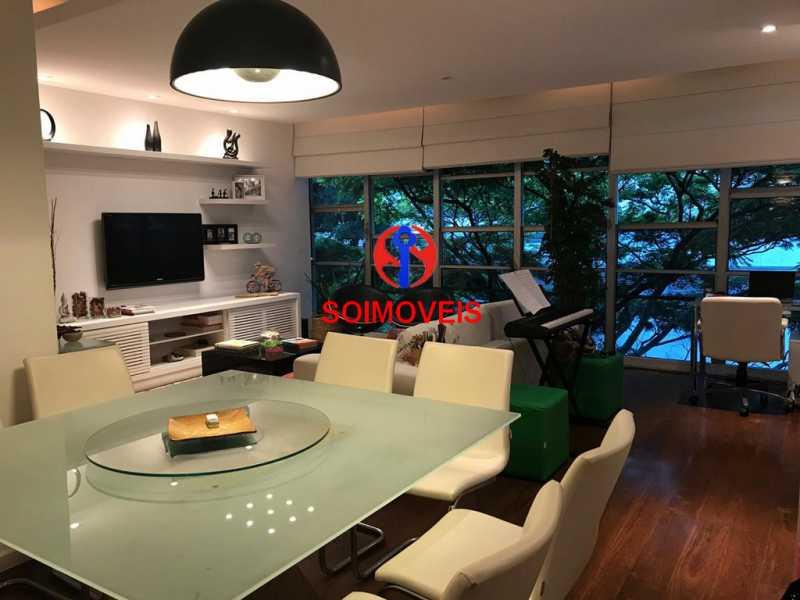 1-sl4 - Apartamento 3 quartos à venda Jardim Botânico, Rio de Janeiro - R$ 2.350.000 - TJAP30245 - 5