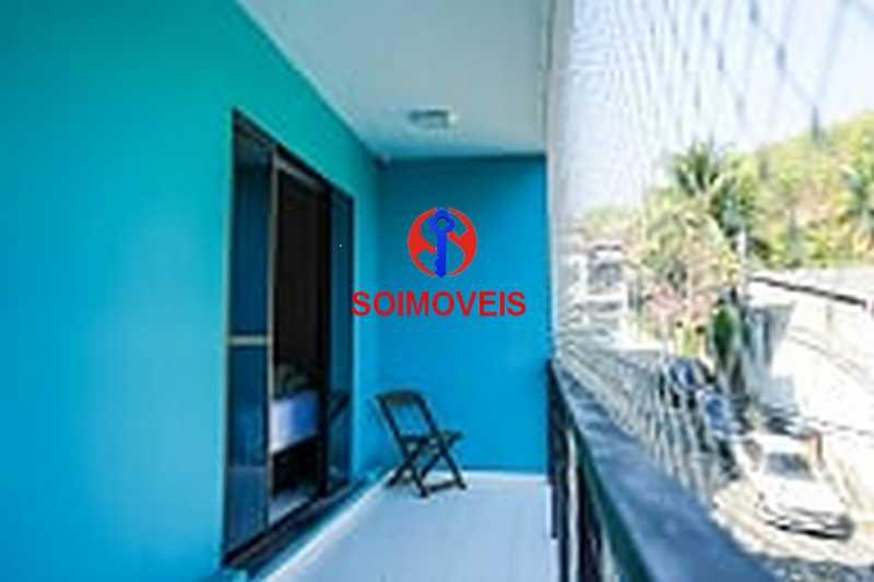 2-1qtovar - Casa em Condomínio 2 quartos à venda Rocha, Rio de Janeiro - R$ 580.000 - TJCN20001 - 11