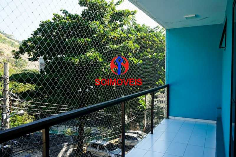 2-1qtovar2 - Casa em Condomínio 2 quartos à venda Rocha, Rio de Janeiro - R$ 580.000 - TJCN20001 - 23