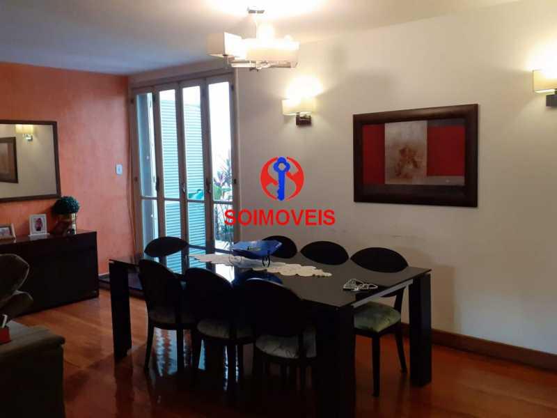 1-2sl - Casa 5 quartos à venda Grajaú, Rio de Janeiro - R$ 1.600.000 - TJCA50004 - 6