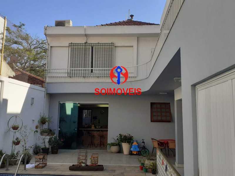 1-fac - Casa 5 quartos à venda Grajaú, Rio de Janeiro - R$ 1.600.000 - TJCA50004 - 1