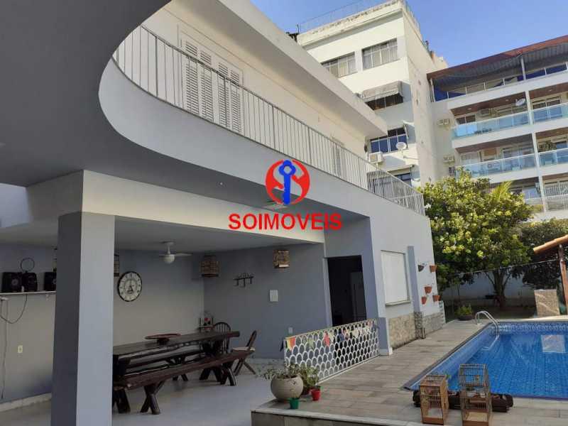 1-fac2 - Casa 5 quartos à venda Grajaú, Rio de Janeiro - R$ 1.600.000 - TJCA50004 - 3