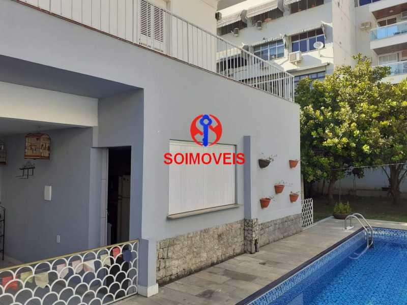 1-fac3 - Casa 5 quartos à venda Grajaú, Rio de Janeiro - R$ 1.600.000 - TJCA50004 - 4