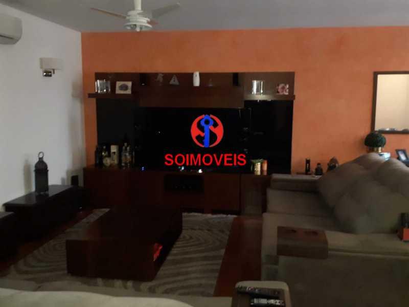 1-sl - Casa 5 quartos à venda Grajaú, Rio de Janeiro - R$ 1.600.000 - TJCA50004 - 5