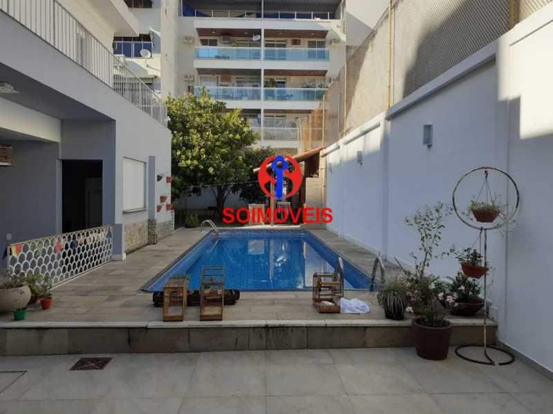 5-pisc - Casa 5 quartos à venda Grajaú, Rio de Janeiro - R$ 1.600.000 - TJCA50004 - 19