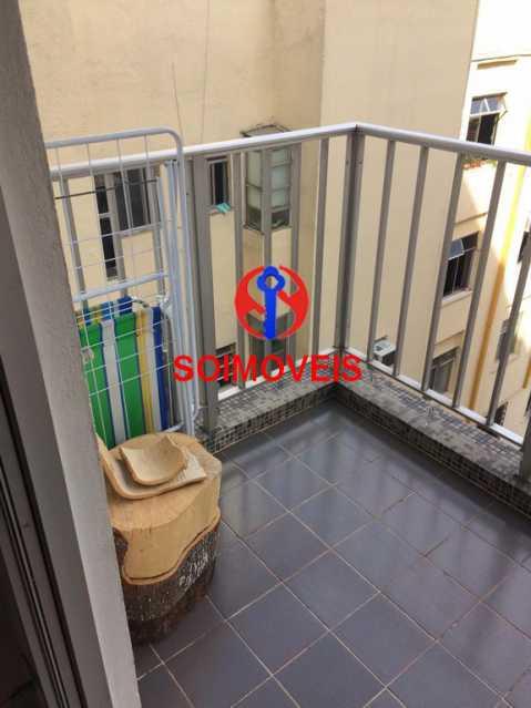 var - Apartamento 2 quartos à venda Vila Isabel, Rio de Janeiro - R$ 290.000 - TJAP20643 - 3