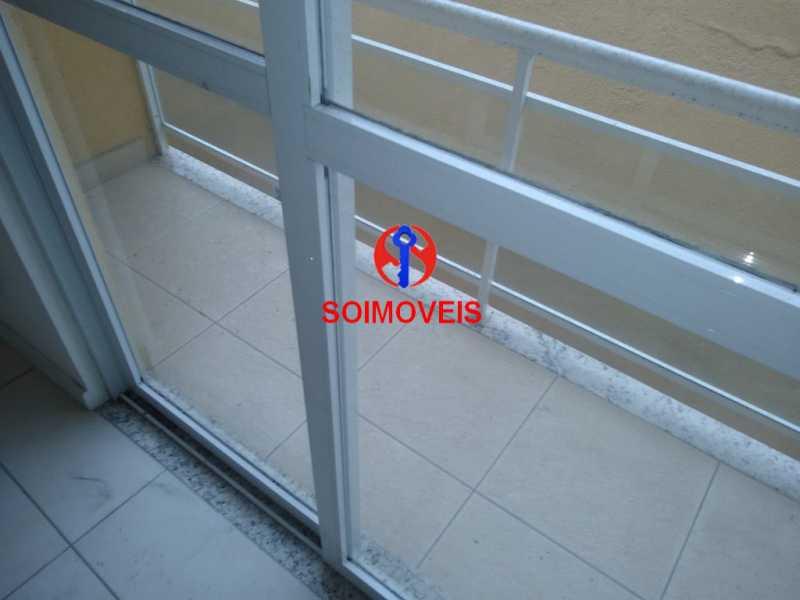 var qt - Casa de Vila 3 quartos à venda Méier, Rio de Janeiro - R$ 410.000 - TJCV30028 - 10