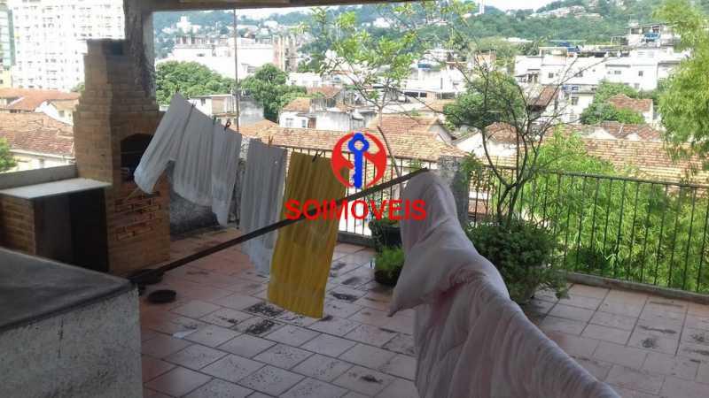 ter - Casa de Vila 3 quartos à venda Rio Comprido, Rio de Janeiro - R$ 490.000 - TJCV30029 - 21