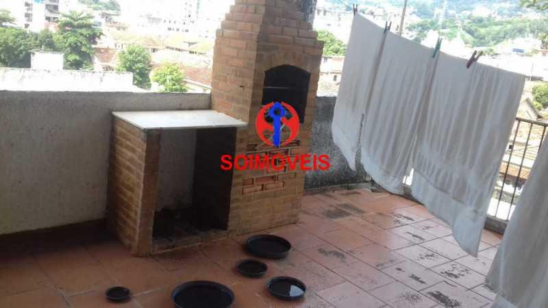 chu - Casa de Vila 3 quartos à venda Rio Comprido, Rio de Janeiro - R$ 490.000 - TJCV30029 - 24