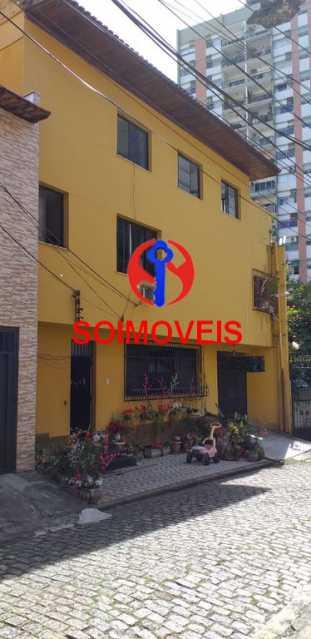 fac - Casa de Vila 7 quartos à venda Tijuca, Rio de Janeiro - R$ 1.100.000 - TJCV70001 - 1