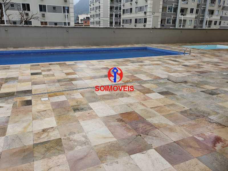 6-pisc - Apartamento 2 quartos à venda Rio Comprido, Rio de Janeiro - R$ 320.000 - TJAP20707 - 18
