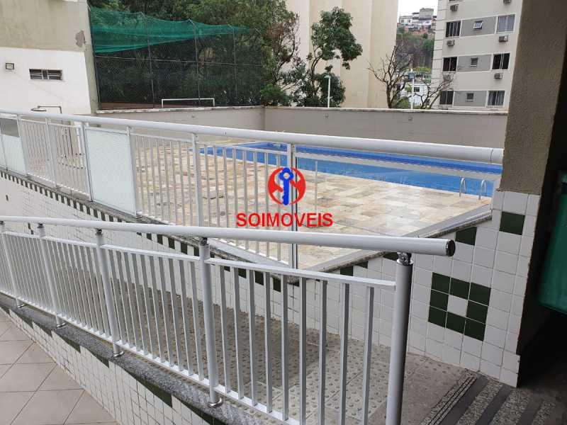 6-pisc2 - Apartamento 2 quartos à venda Rio Comprido, Rio de Janeiro - R$ 320.000 - TJAP20707 - 19