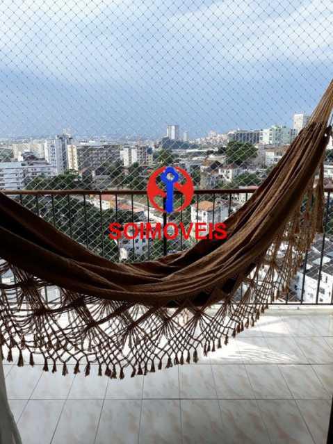 var - Apartamento 2 quartos à venda Rio Comprido, Rio de Janeiro - R$ 350.000 - TJAP20743 - 11